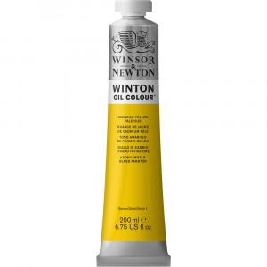 Tinta Óleo Winsor & Newton 119 Cadmium Yellow Pale Hue Winton 200ml